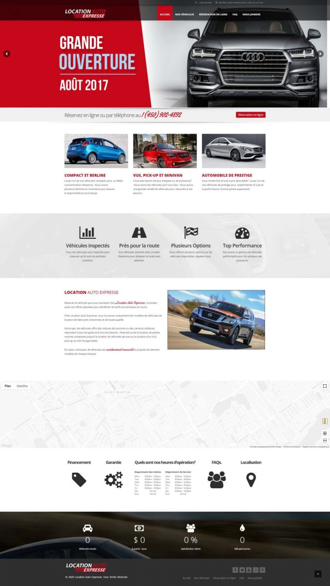 car dealership in montreal website design scaled